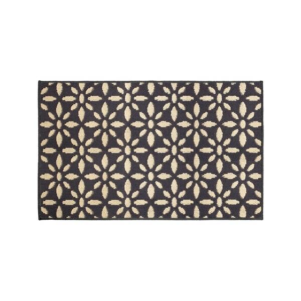Jean Pierre Kelsey Grey/Berber Loop Accent Rug - (28 x 48 in.)