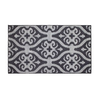 Jean Pierre Nina Flat Grey/Grey Loop Accent Rug - 28 x 48 in.