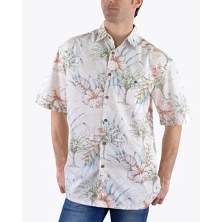 Campia Men's Cotton Print Shirt