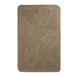 All Maples Textured Loop Chocolate Oblong Kitchen Rug - (18 x 28 in.)