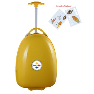 Denco Sports Pittsburgh Steelers Kids' Hardside Carry-on Suitcase