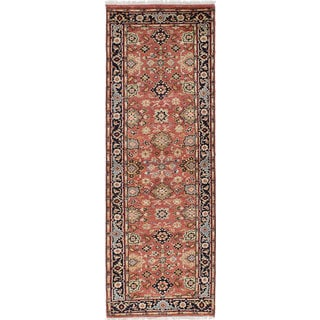 Ecarpetgallery Hand-knotted Serapi Heritage Brown Wool Rug (2'8 x 8'1)