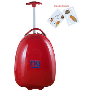 Denco Sports New York Giants Kids' Hardside Carry-on Suitcase