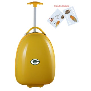 Denco Sports Green Bay Packers Kid's Hardside Carry-on Suitcase