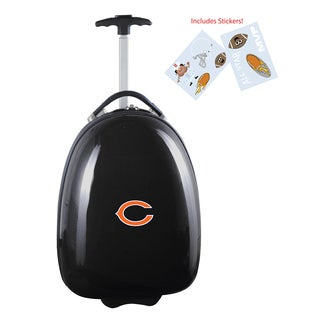 Denco Sports Chicago Bears Kids Hardside Carry-on Suitcase