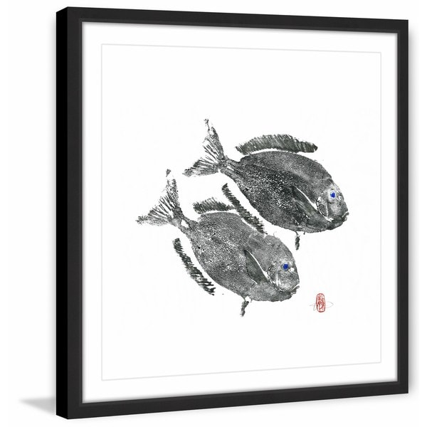 'Always on the Move' Framed Painting Print