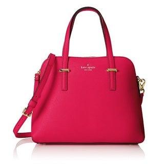 Kate Spade Cedar Street Maise Pink Confetti Satchel Handbag