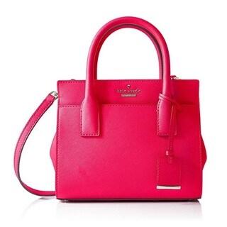 Kate Spade Cameron Street Mini Pink Confetti Candace Satchel Handbag