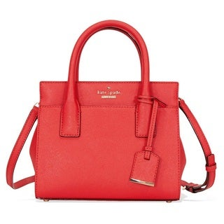 Kate Spade Cameron Street Mini Rooster Red Candace Satchel  Handbag