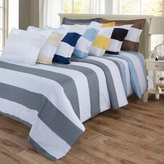 Shop Superior Cotton Blend 600 Thread Count Cabana Stripe