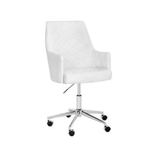 Shop Baraga Contemporary Home Office Swivel Desk Chair