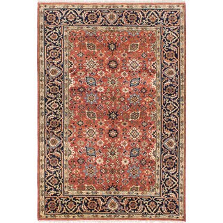 Ecarpet Gallery Hand-knotted Serapi Heritage Brown Wool Rug (5'11 x 8'9)