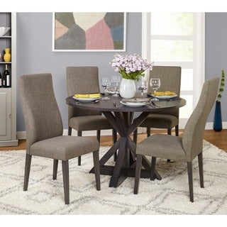 Simple Living 5-Piece Glen Trestle Dining Set