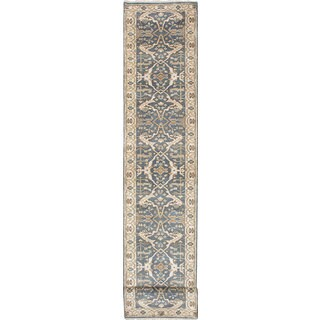 Ecarpet Gallery Hand-knotted Royal Ushak Green Wool Rug (2'8 x 19'8)