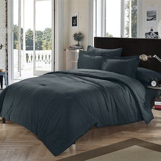 BYB Chino Black Comforter (Shams Not Included)