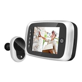 3.5 in. Screen Door Viewer with Doorbell, IR and SD Card