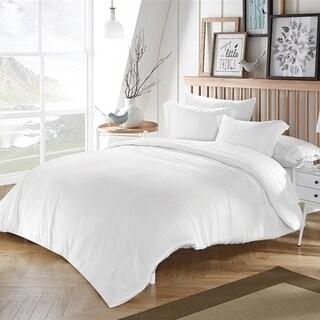 BYB White Bamboo Modal Comforter (Shams Not Included)