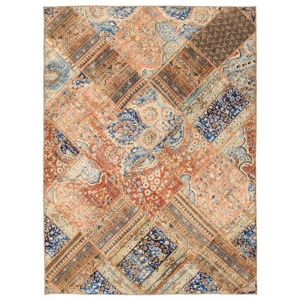 Handmade Herat Oriental Pak Persian Patchwork Wool Rug Stan 5 X27