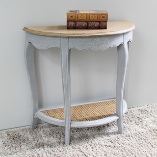 International Caravan Ashbury Oak Console Table