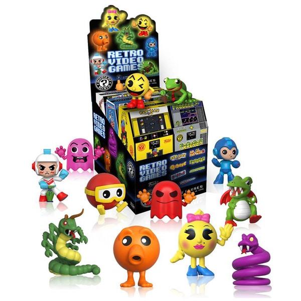 Funko Mystery Min Blind boxi: Retro Video Games - 12 Pack Bundle