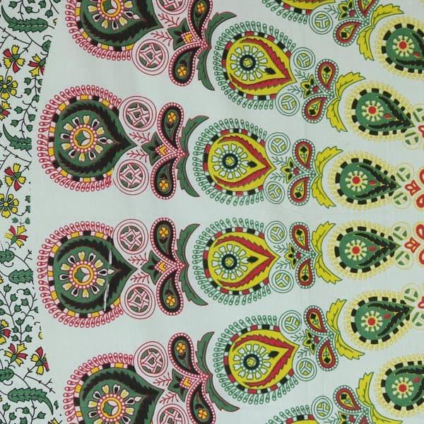 Shop Handmade Cotton Wall Hanging Mandala Garden India