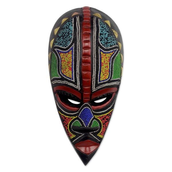 African Masks Proud Hausa Warrior Ghana Free