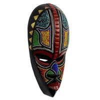 African Masks, 'Proud Hausa Warrior' (Ghana)