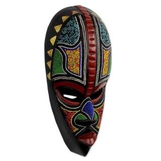 African Masks, 'Proud Hausa Warrior' (Ghana)