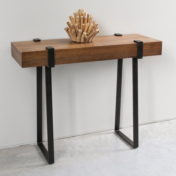 Overstock Console Tables Part - 5: International Caravan Hamburg Contemporary Console Table