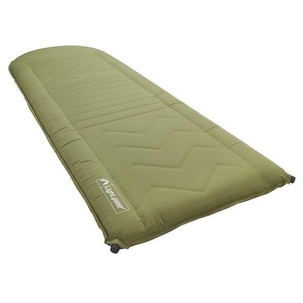 "Lightspeed 3"" Thick Self Inflating Sleep Pad Green"