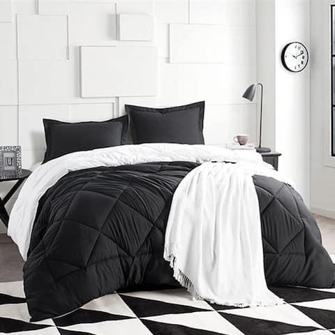 BYB Black/White Reversible Comforter (Shams Not Included)