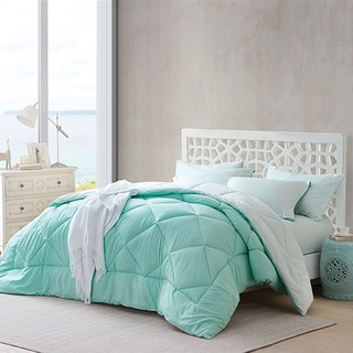 Link to BYB Yucca/Hint of Mint Reversible Comforter (Shams Not Included) (As Is Item) Similar Items in As Is