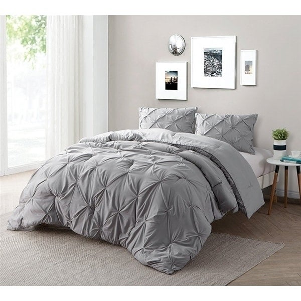 BYB Alloy Pin Tuck Comforter Set