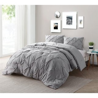 Carbon Loft Turner Alloy Pin Tuck Comforter Set