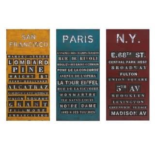 Sullivan Subway Signs - Ast 3|https://ak1.ostkcdn.com/images/products/14578267/P21125428.jpg?impolicy=medium