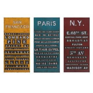 Sullivan Subway Signs - Ast 3