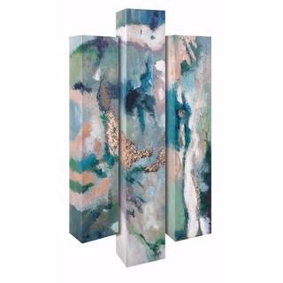 Serene Aura Oil Paintings - Set of 3