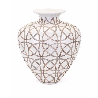 Kelsang Short Earthenware Vase