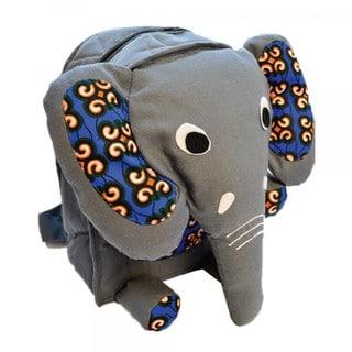 Handmade Kids Elephant Backpack - Imani Workshops (Kenya)