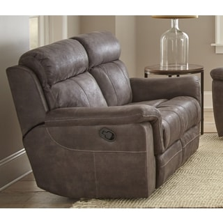 Reggio Microfiber Reclining Loveseat by Greyson Living