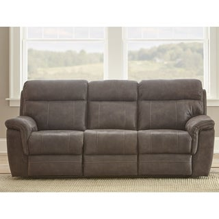 Reggio Microfiber Reclining Sofa by Greyson Living