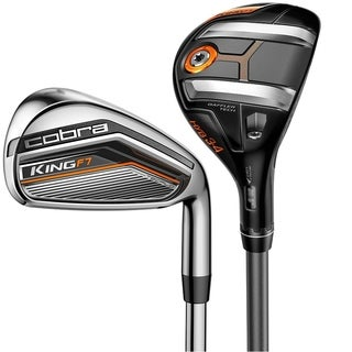 Cobra King F7 Hybrid Graphite Shaft Iron Set