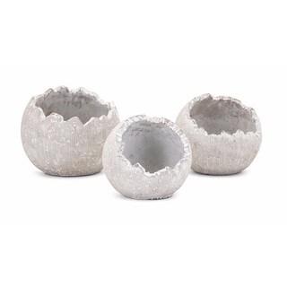 Oliver Wall Flower Pots - Set of 3
