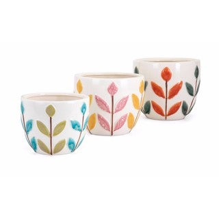 Bliss Ceramic Planters - Set of 3