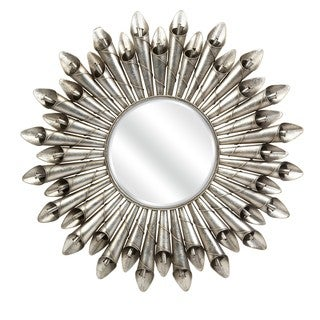 Tropez Twisted Flower Wall Mirror