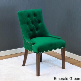 Lemele Tufted Velvet Dining Chairs (Set of 2)