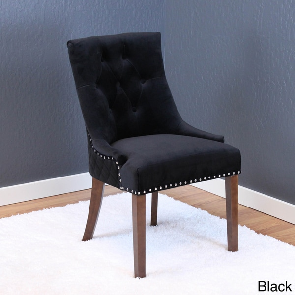 Lemele Tufted Velvet Dining Chairs (Set Of 2)   Free Shipping Today    Overstock.com   21125790 Part 88