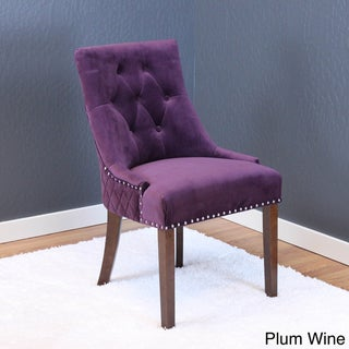 Lemele Tufted Velvet Dining Chairs (Set of 2)