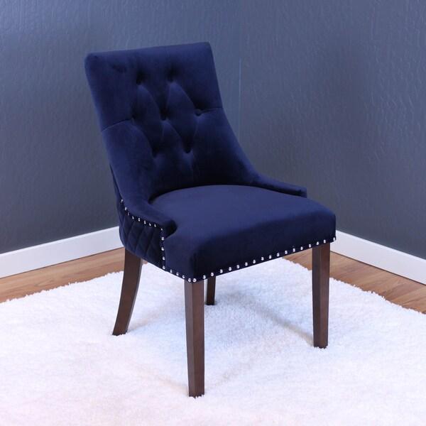 Lemele Tufted Velvet Dining Chairs Set Of 2 Free