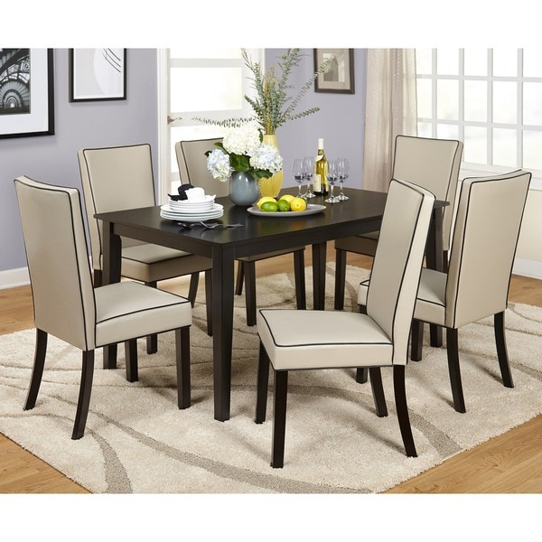 Shop Simple Living Giana Parson Dining Sets On Sale Free